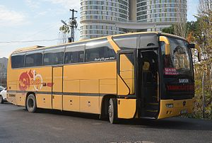 İlkadım Belediyesi Yabancılar Pazarı Spor - Club bus of İlkadım Belediyespor.
