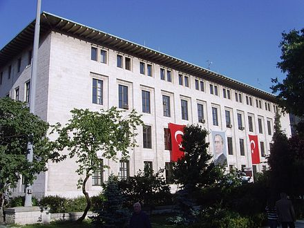 Headquarters of the state-run TRT's Istanbul radio operations Istanbul radio1.JPG