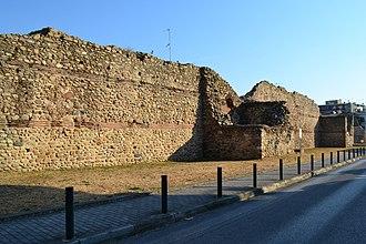Komotini - Byzantine fortress of Komotini.