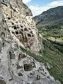 Ва́рдзиа — пещерный монастырский комплекс XII—XIII веков на юге Грузии, в Джавахетии 07.jpg