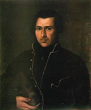 Yevhen Hrebinka - Portrait of Hrebinka by Apollon Mokritsky in 1833
