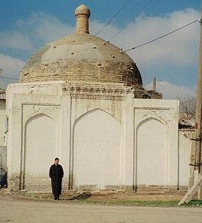 G'uzor Town in Qashqadaryo Region, Uzbekistan