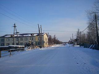 Kobyay Selo in Sakha Republic, Russia