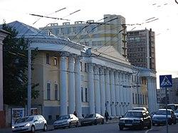 Краеведческий музей - вид с улицы Лермонтова.JPG