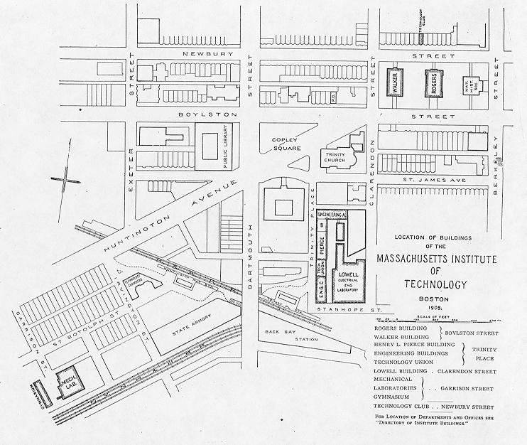 МИТ кампус 1905