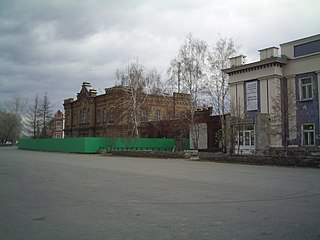 Minusinsk Town in Krasnoyarsk Krai, Russia