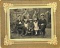 Мой прадед (справа) и прабубашка (сверху в центре) (10187633025).jpg