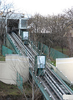 Funicular railway in Ukraine