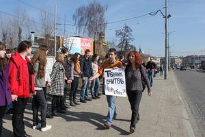 Dmytro Tabachnyk - Image: Перша студентська сесія Дмитра Табачника.2
