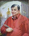 Портрет С. Грабаря (Народний художник України Володимир Слєпченко).jpg