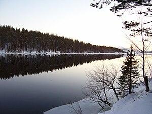 Niva River - Image: Река Нива