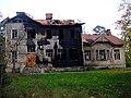 Сестрорецк. Разлив. Алексеевская школа в 2012 г. после пожара.JPG