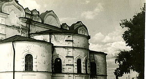 Pinezhsky District - Ruins of the Assumption Cathedral of the former Ioanno-Bogoslovsky Monastery, Sura
