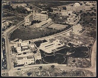 Beit Aghion - Image: ירושלים בית אגיון 1938 זולטן קלוגר הספרייה הלאומית