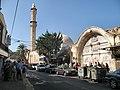 מראה כללי של סביל סולימאן ומסגד מחמודיה.jpg