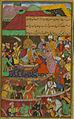 Ḥamzah Sulṭān, Mahdī Sulṭan and Mamāq Sulṭān pay homage to Babur.jpg