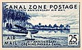 """""""Canal Zone Postage"""" 25 cents - Panama Canal C18 (cropped).jpg"""