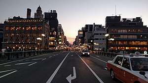 Kyoto - Down town of Kyoto City