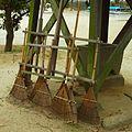 比賣久波神社にて 川西町唐院 Leafrakes 2012.2.05 - panoramio.jpg