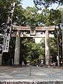水天宮大鳥居「夏の大祭」 - panoramio.jpg