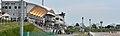 門別競馬場の馬場とスタンドの俯瞰視点(2015年6月).JPG