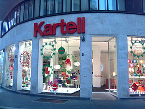 Showroom - Kartell showroom in  Via Turati, Milan, Italy
