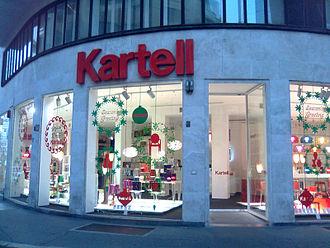 Showroom - Kartell showroom in Via Turati, Milan, Italy