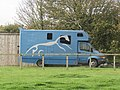 -2019-11-05 Horse box vehicle, Trimingham.JPG