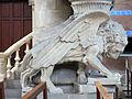 008 Església de l'Hospital de Sant Pau, lleó de Sant Marc.JPG