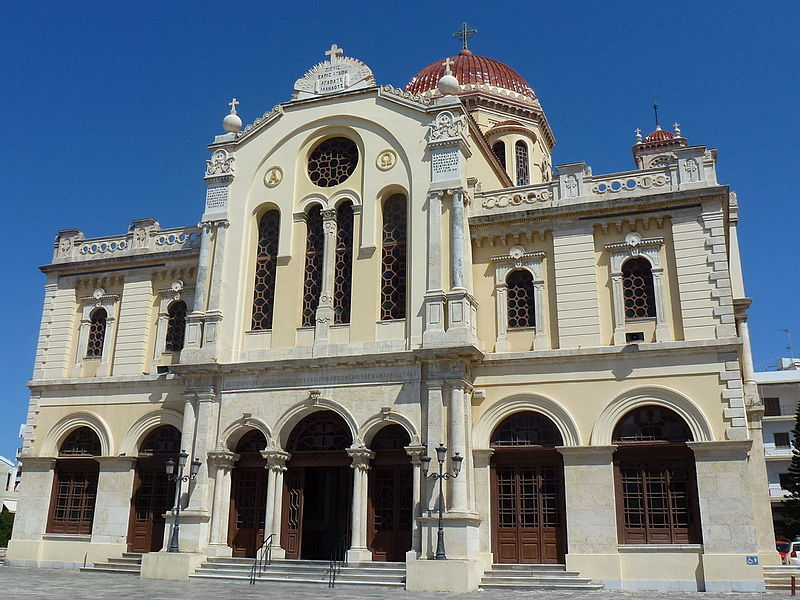 01.Agios Minas Kathedrale Heraklion Westfassade.JPG