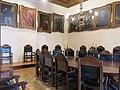 015 Palau Requesens, seu de la Reial Acadèmia de Bones Lletres (Barcelona), sala de juntes.jpg