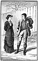 06 The new school mistress-Illustration by Gordon Browne for Facing Death by G A Henty.jpg
