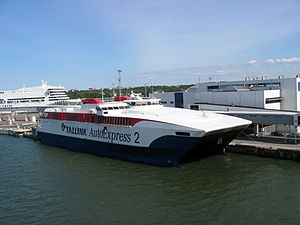 HSC Tallink AutoExpress 2 - Image: 07 06 21 tallinn by Ralf R 062