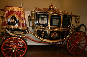 Irish State Coach - The Irish State Coach at the Royal Mews