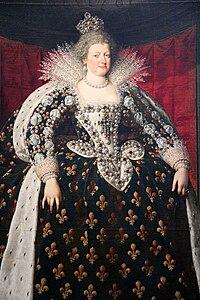 0 Marie de Médicis - Frans Pourbus le Jeune - Louvre (INV1710) - (2).JPG
