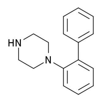 1-(2-Diphenyl)piperazine - Image: 1 (2 diphenyl)piperazine structure