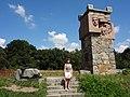 1. Пам'ятник на честь визволення міста Біла Церква в 1702 році козаками під проводом козацького отамана.JPG