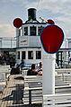 100 Jahre Dampfschiff 'Stadt Rapperswil' - Tag der offenen Dampfschiff-Türe am Bürkliplatz - Brücke - Oberdeck 2014-04-25 14-39-48.JPG