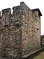 114 Sant Esteve de la Doma, mur nord-oest i comunidor.jpg