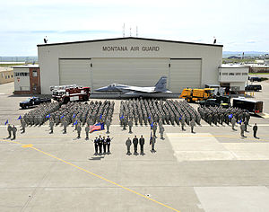 120th Airlift Wing - 120th Fighter Wing - Formation