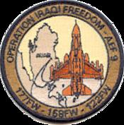 122d Fighter Wing 158th Fighter Wing and 177th Fighter Wing Operation IRAQI FREEDOM