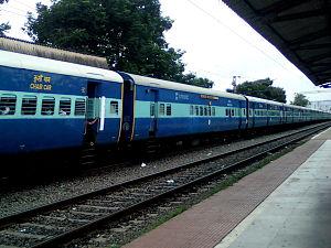 Duvvada–Vijayawada section - Ratnachal Express is one of the fastest and Prestigious trains on Duvvada–Vijayawada section