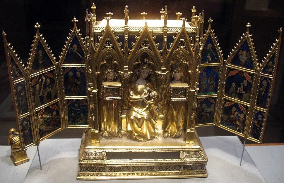 1325-50 Touyl Reliquienschrein anagoria