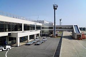 Miho-Yonago Airport - Image: 150321 Yonago Airport Yonago Tottori pref Japan 02s 3