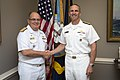 150818-N-AT895-211 Adm. Jonathan Greenert shakes hands with Commander of the Brazilian Navy Adm. Eduardo Bacellar Leal Ferreira.jpg