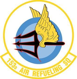 153d Air Refueling Squadron - Image: 153rd Air Refueling Squadron emblem