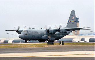 North Carolina Air National Guard - 156th Airlift Squadron Lockheed C-130H Hercules 93-1458.  The 156th is the oldest unit in the North Carolina Air National Guard, with over 60 years of service.