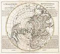 1741 Covens and Mortier Map of the Northern Hemisphere ( North Pole, Arctic ) - Geographicus - NorthPole-covensmortier-1741.jpg
