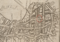 1743 Christ Church NorthEnd Boston map WilliamPriceBPL 10913 detail.png