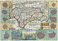 1747 La Feuille Map of Andalusia, Spain (Sevilla) - Geographicus - Andalusia-ratelband-1747.jpg